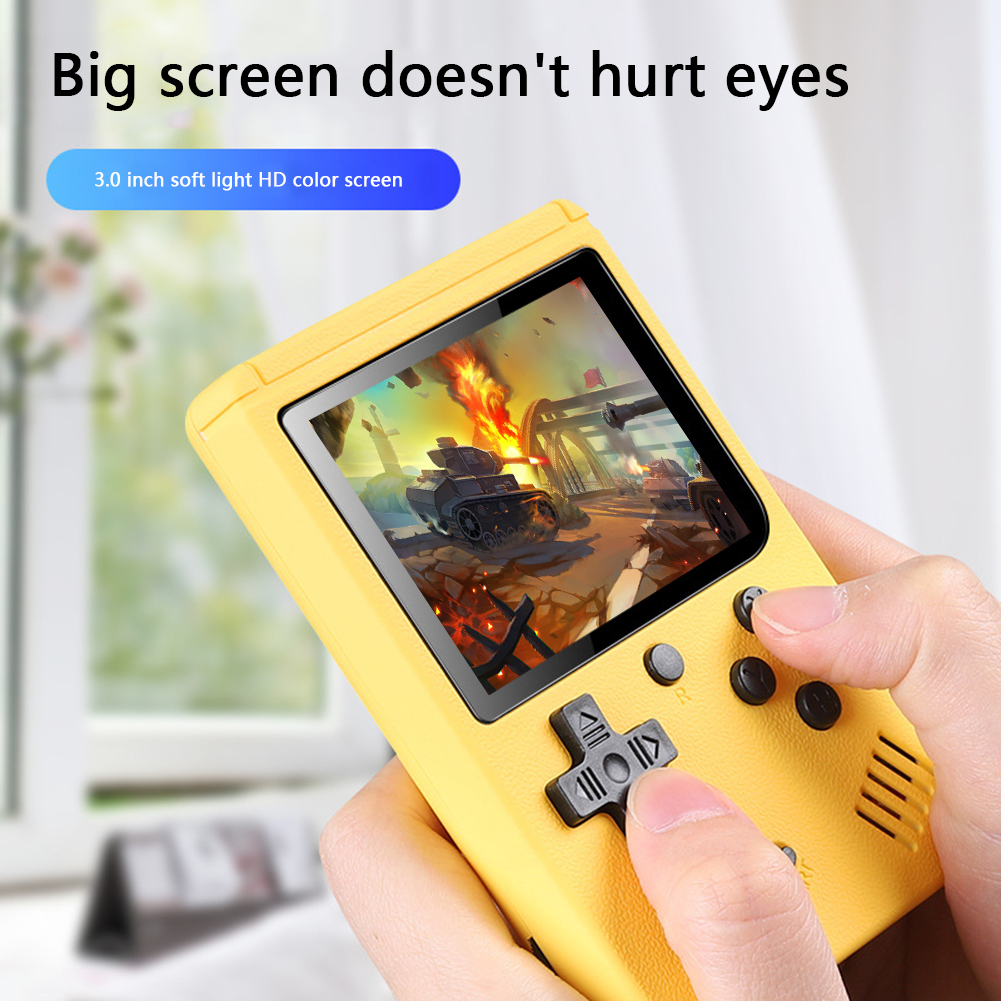 ALLOYSEED 500 Games Retro Video Game Player Portable Pocket Mini Handheld Game Console Machine Gifts For Kids Nostalgic Player