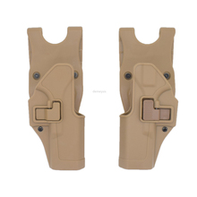 Left Right Hand Tactical Pistol Holster Military Glock Belt Holster Hunting Airsoft Waist Holsters for Glock 17 19 22 23 31 32