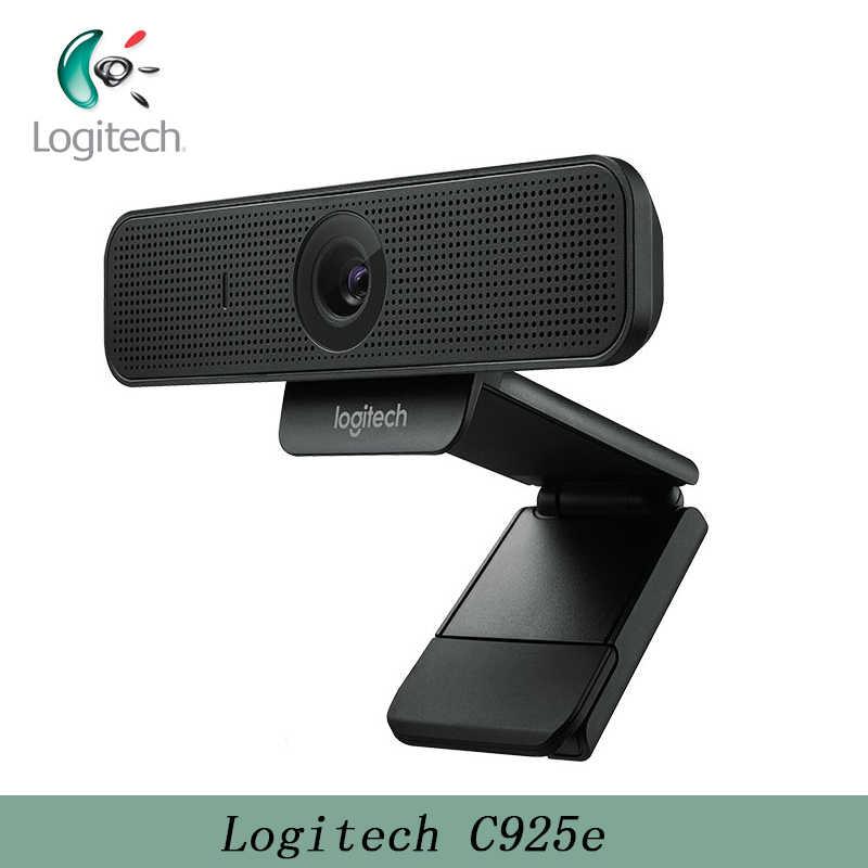 Logitech C925e 080P HD веб-камера с автофокусом Full HD 1080P и HD 720P камера со встроенным абажуром конфиденциальности и встроенным микрофоном