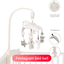 Music-Box Baby Newborn Crib with Holder Arm-bebe/Bed/Hanging/Rattle-toys for Kids Gift