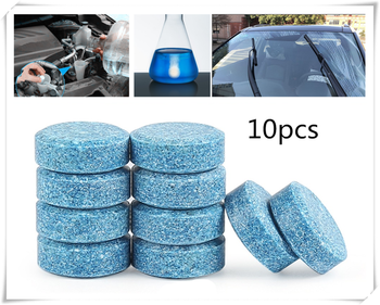 10PCS / 1 pack auto solid wiper fine windshield cleaner Car accessories for BMW all series F-series E46 E90 F09 1 2 3 4 5 6 7 X image