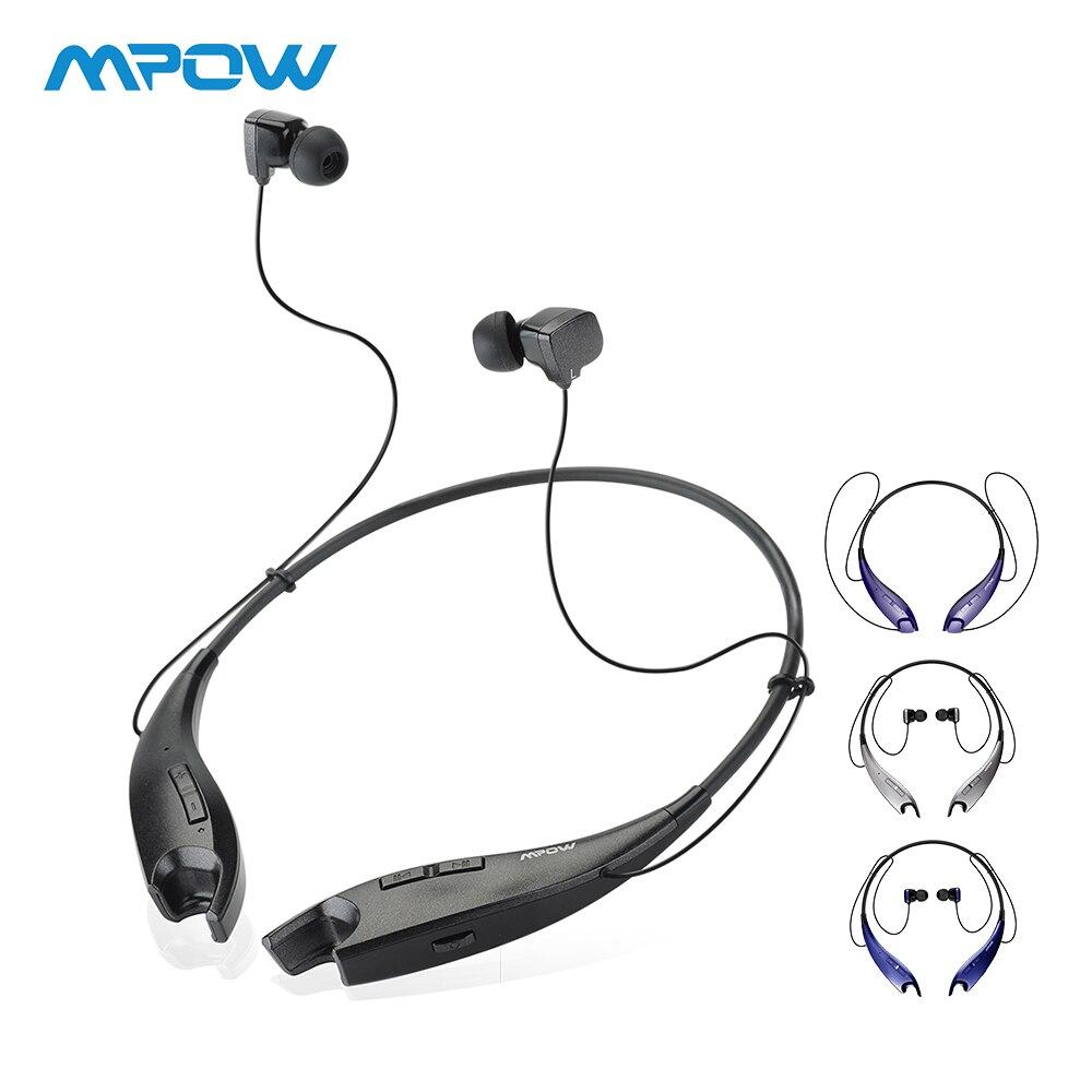 Mpow Mandíbulas Chamando Fones De Ouvido Handsfree Fones de Ouvido Sem Fio Bluetooth Fone De Ouvido No Pescoço Halter Estilo Para iPhone Xiaomi Huawei Smartphones