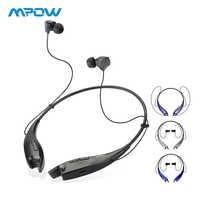 Mpow Ganasce Auricolari Senza Fili di Bluetooth Della Cuffia del Collo del Halter di Stile Auricolari Vivavoce Per iPhone Xiaomi Huawei Smartphone