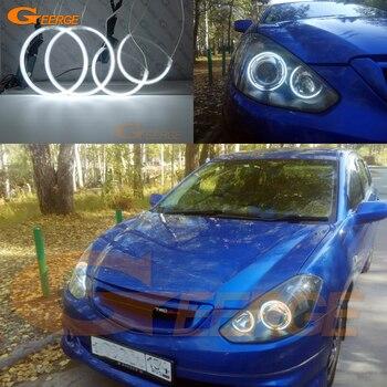цена на For Toyota Caldina T24 pre facelift 2002 2003 2004 Excellent quality Ultra bright illumination CCFL Angel Eyes kit halo rings