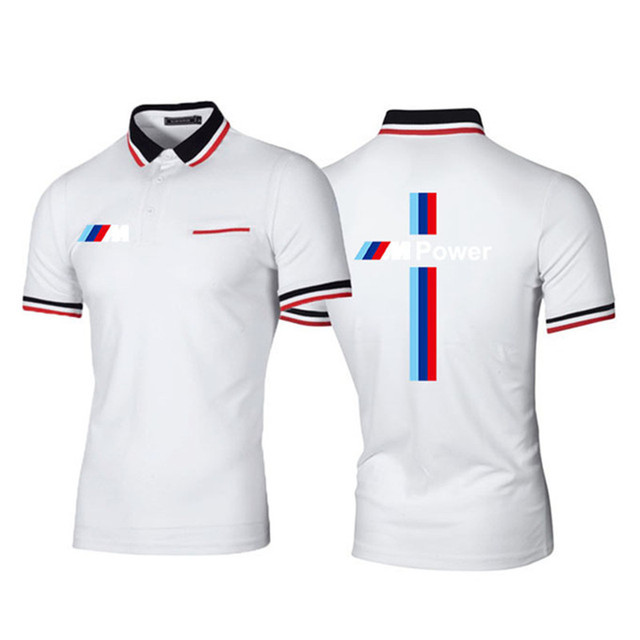 New Summer Men Brand Clothing printing BMW M Men Business fashion Casual Male Polo Shirt Short Sleeve Breathable Soft Polo Shirt 3