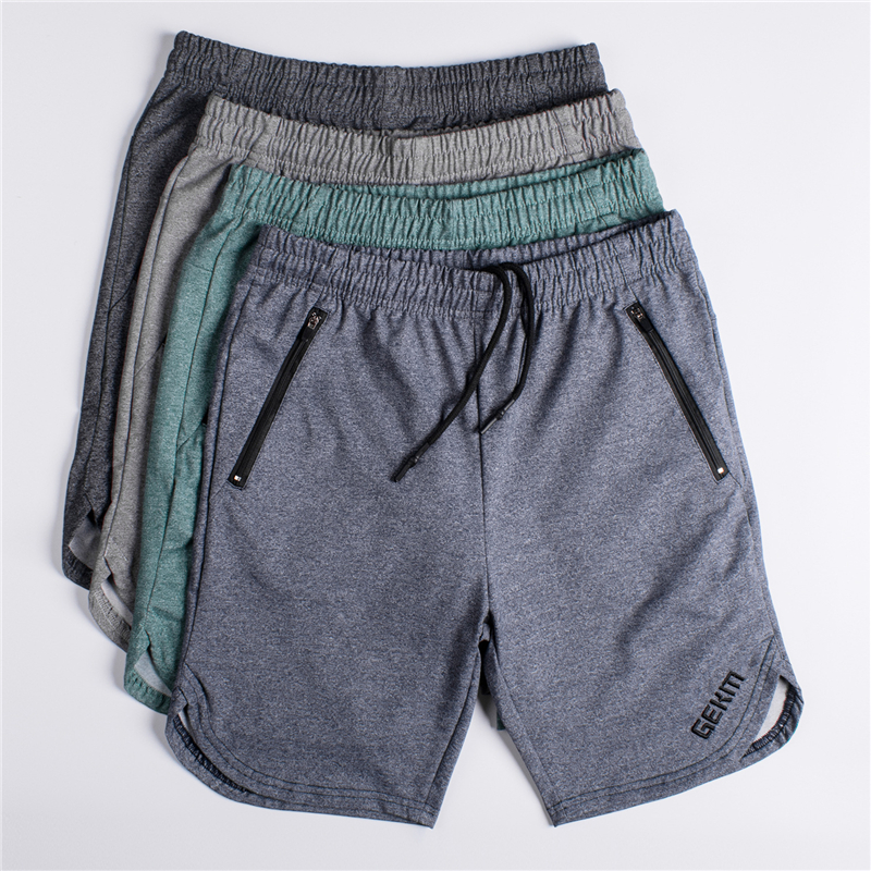 2019 New Men Gyms Fitness Shorts Mens Summer Fashion Casual Cotton Short Pants Male Jogger Workout Beach Knee Length
