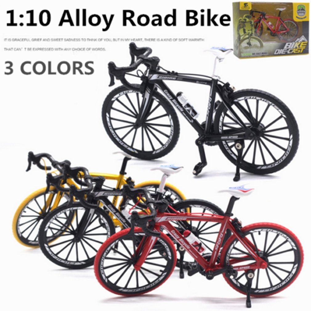 1:10 Alloy Diecast Metal Bicycle Road Bike Model Cycling Toys For Kids Gifts Toy Vehicles For Children