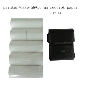 Image 3 - Milestone Bluetooth Thermische Printer Ontvangst Factuur 58Mm Mini Usb Draagbare Draadloze Ticket Android Ios Pocket Printer P10