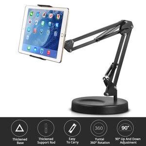 Image 5 - Pieghevole Lungo Braccio Supporti tablet supporto Da Tavolo Supporto Del Telefono Mobile Staffa di 360 gradi Pigro Supporto Per La Registrazione Video di Trucco In Diretta