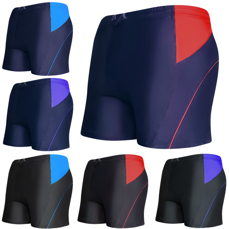 Men Korean-style Boxer Swimming Racing Adult Beach Casual Bubble Hot Spring Men's Swimming Trunks Yk09l191