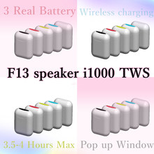 Original i1000 TWS F13 Speaker 1:1Replica 8D Super Bass Earbuds Bluetooth Wireless Earphones PK i200 i500 i2000 i3000 i9000 TW(China)