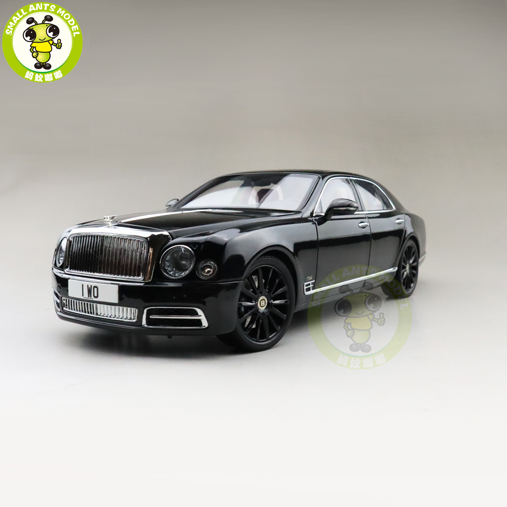1/18 Almost Real Mulsanne W.O. Edition Mulliner Diecast Metal Model Car Gifts Collection Hobby