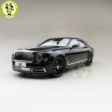 1/18 quase real mulsanne w. o. Edição mulliner diecast modelo de metal coleção de presentes do carro hobby