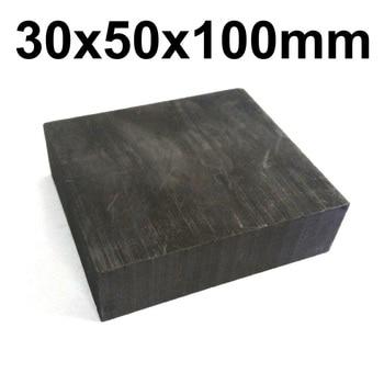 30mm x 50mm x 100mm Graphite Block Plate Sheet Blank round copper sheet 0 5mm diameter 50mm to 100mm