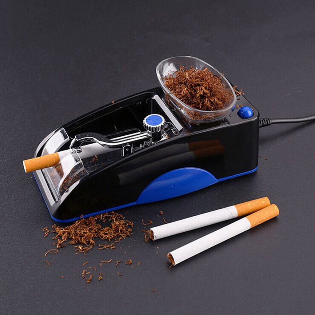 Rechargeable Electric Automatic Cigarette Rolling Machine Tobacco Injector Maker Roller DIY Smoking Tool Cigarette Accessories 1