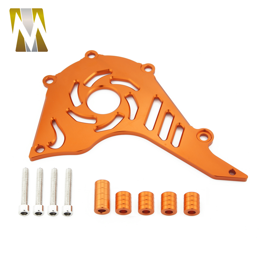 FOR KTM DUKE 200 125 2012 2013 2014 2015 2016 2017 Motocross FOR KTM 125 Accessories Front Sprocket Chain Cover Moto For KTM 200 image