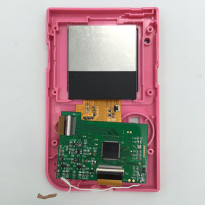 Image 4 - Replacement LCD Screen Kits for GBP Screen Backlight with ribbon cable for Nintend GBP LCD Screen High Light Gamepad Console NEW