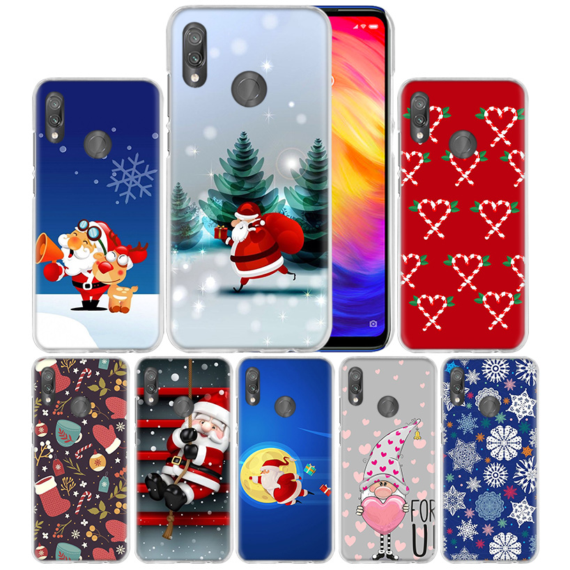 Case Cover for Xiaomi Redmi Note 7 7A 7S 8 6 5 K20 Mi 8 9T CC9 CC9E A1 A2 A3 Play F1 Lite Pro Plus Merry Christmas winter wishes