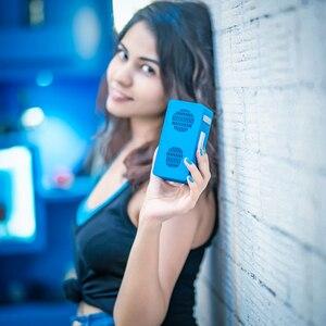 Image 5 - Haut parleur Bluetooth colonne haut parleurs sans fil portables basse Subwoofer stéréo avec mains libres TF carte AUX lecteur MP3 réveil