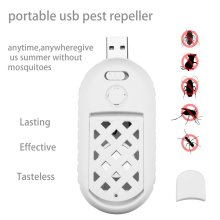 Home Mini USB Mosquito Killer Ultrasonic Insect Pest Repeller Portable Office Camping Electric Repellent Device