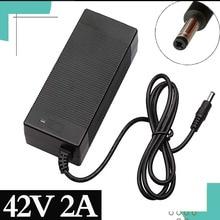 36V 2A Elektrische Fiets Acculader Uitgang 42 V 2 Een Lader Ingang 100  240 Vac Lithium Li Ion li Poly Oplader Voor 10Serie