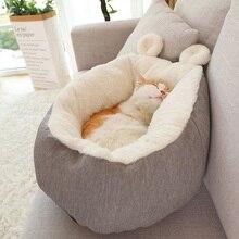 Кошка собака кровать согревающий собачий дом мягкий материал спальный мешок для животных Подушка щенок питомник