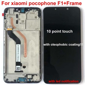 """Image 4 - 100% New Original+Frame For 6.18""""Xiaomi poco F1 LCD Display Touch Screen Digitizer Assembly for xiaomi mi Pocophone F1(10 point)"""