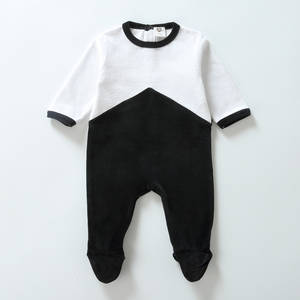 Girls Overalls Rompers Baby Jumpsuit Long-Sleeves Baby Newborn Kids Boy Two-Colors Children