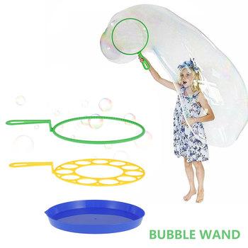 3 szt Bańka wodna dmuchanie zabawki zabawa na świeżym powietrzu mydło bańka koncentrat Stick dmuchanie bańka taca dzieci zabawki interaktywne zestawy tanie i dobre opinie Morima CN (pochodzenie) 4-6y 7-12y Z tworzywa sztucznego Bubble zestaw Unisex Długi Nietoksyczne Bubble Blower Bubble maker