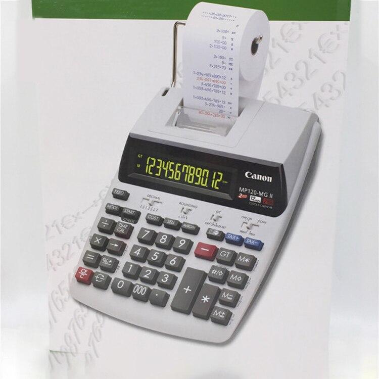 Calculadora Mp120 mgii grande desktop plug in
