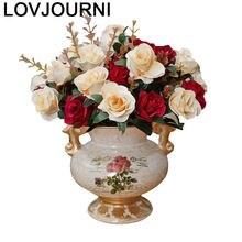 Ceramica wazony ozdobne vaso para casa jarrones decorativos