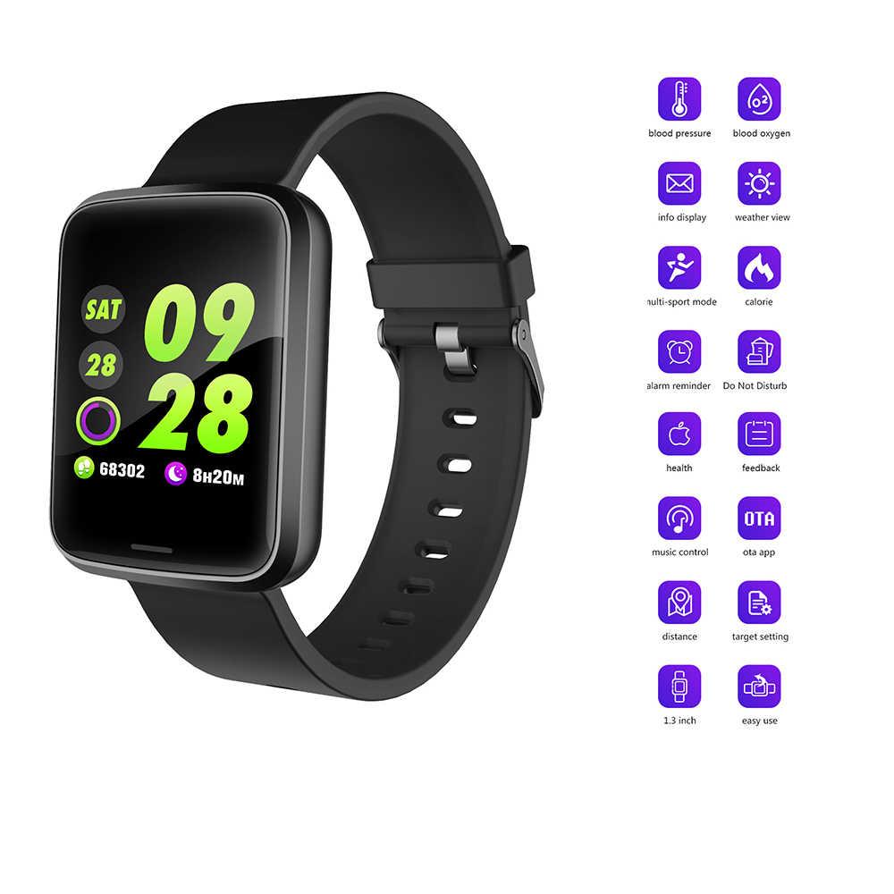 Спортивные часы, модный умный браслет, пульсометр, измеритель артериального давления, фитнес-трекер, Часы, Bluetooth, браслет для мужчин, Wome