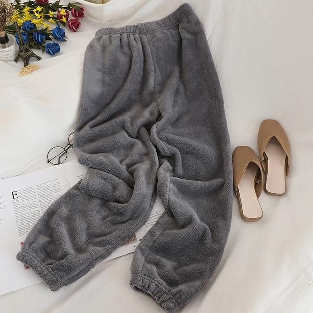 Heliar Underwear Thermal Winter Pants Women Elastic Outerwear Warm Velvet Trousers For Women Long Pants Woolen Loose Pants Women 4