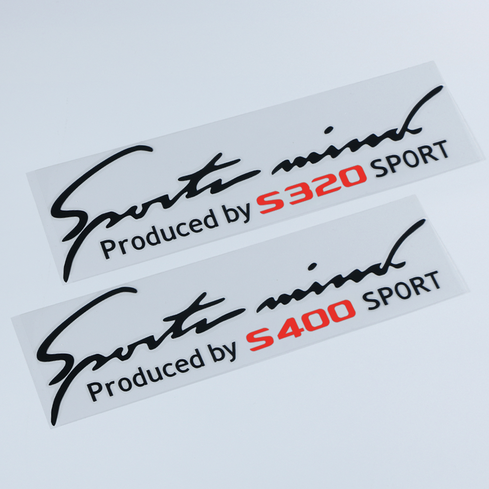 Car Headlamp Stickers For <font><b>Mercedes</b></font> Benz W116 W126 W140 W217 W220 W221 <font><b>W222</b></font> W112 <font><b>S</b></font> <font><b>Class</b></font> S320 S400 Reflective Auto Lamp Eyebrow image