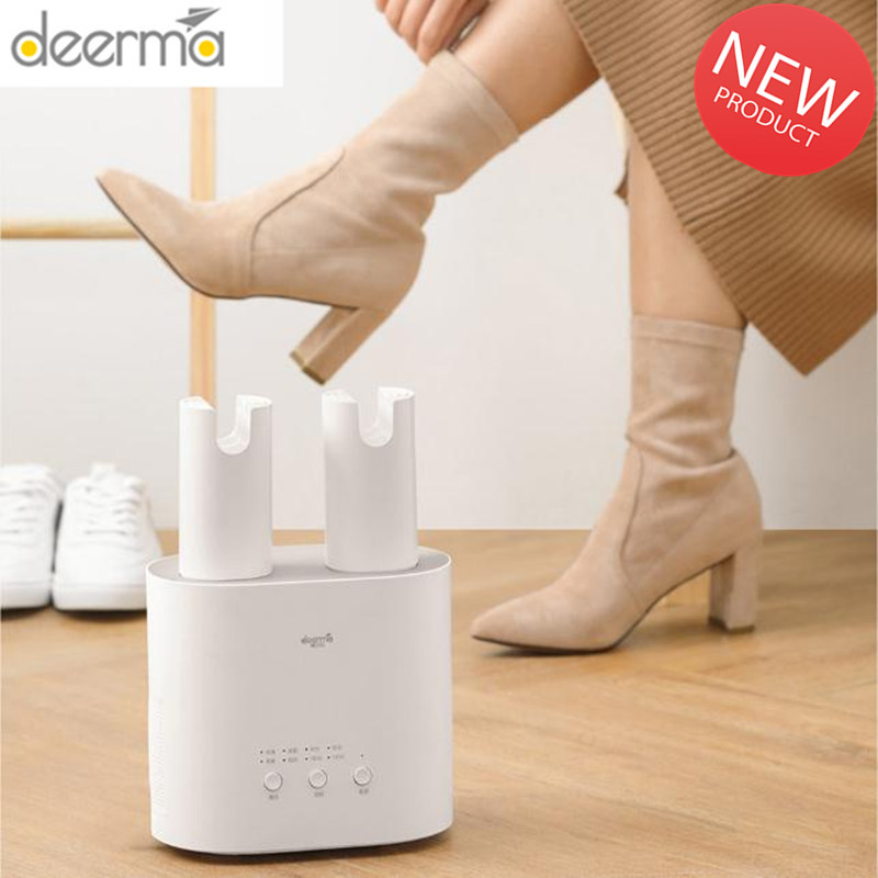 Deerma Shoe Dryer Portable 3 In 1 Intelligent MultiFunction Retractable Smart Shoes Drier Heater Sterilization Dehumidify