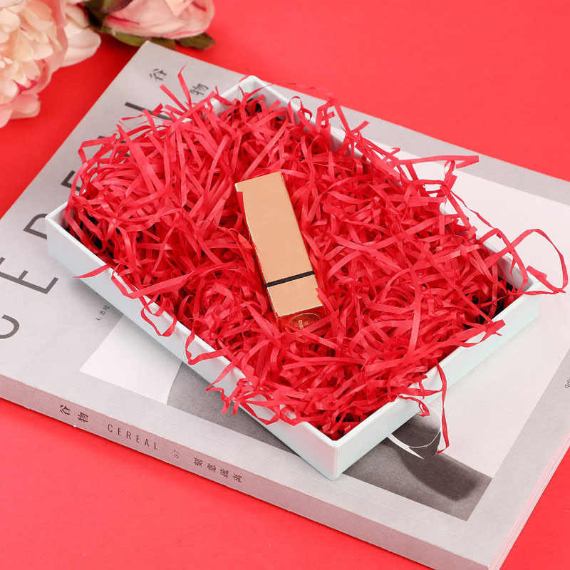 10 グラム袋あたり DIY 紙ラフィア細断紙紙吹雪ギフトボックス充填材料の結婚式の結婚の家の装飾の装飾 62456