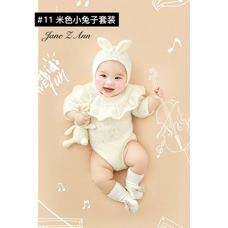 Jane Z Ann Baptism Clothes for Babies  Baby Photo Shoot Clothing Filming Props  Children 100 days/3-4 month  Theme costume 2