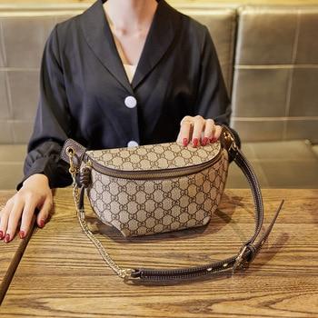 Designer women chest bag Fashion purse shoulder bags waist bags Classic fanny pack for women Leather Waist Pack female Belt Bag