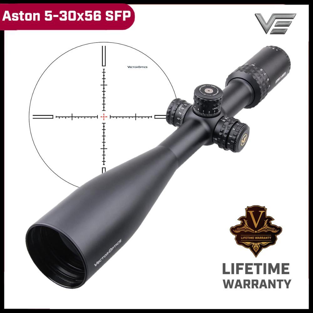 Optyka wektorowa Aston 5-30x56 SFP taktyczna luneta celownicza 1/4 System blokady wieży MOA długa luneta Lapua Magnum 338 zatwierdzona