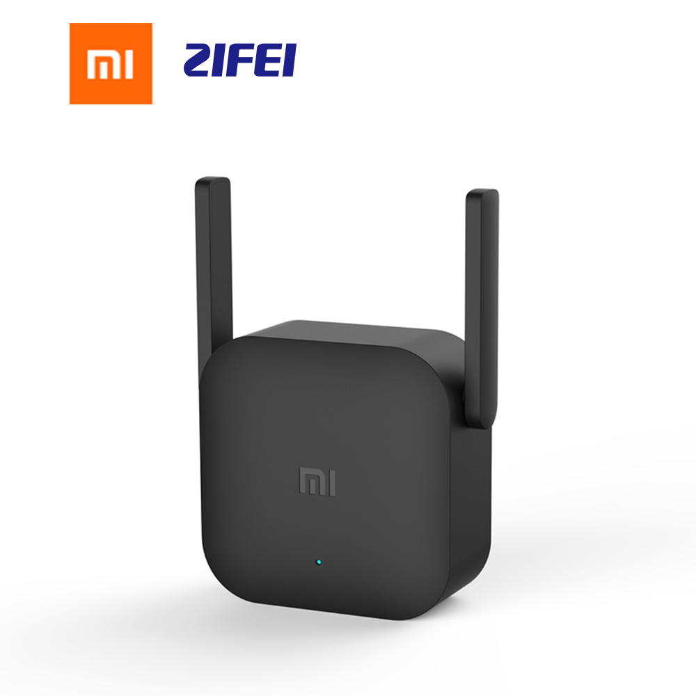 Xiaomi Mijia WiFi Repeater Pro 300M Mi <font><b>Amplifier</b></font> Network Expander Router Power Extender Roteador 2 Antenna for Router Wi-Fi image