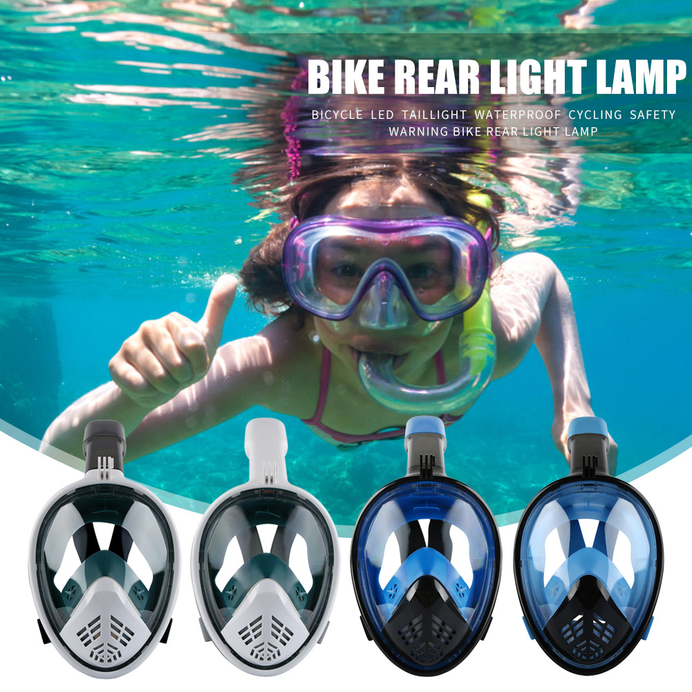 Swimming Mask Diving Anti Fog Full Face Underwater Scuba Snorkeling Set Respiratory Masks Safe and Waterproof Swimming Equipment(China)
