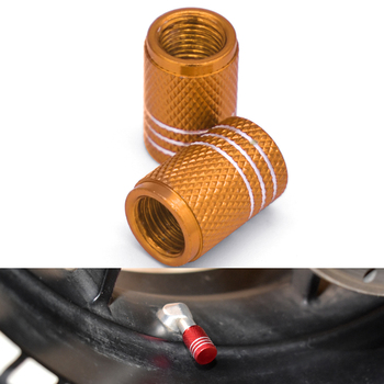 Motorcycle Tire Valve Dustproof Cap Aluminum Tyre Rim Air Port Cover For YAMAHA XT250 TRICKER DT230 DT 125 230 LANZA KAWASAKI image
