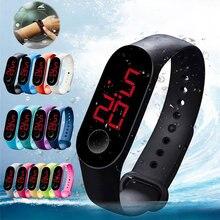 Fashion Men Women Sport Watch Waterproof LED Luminous Electr