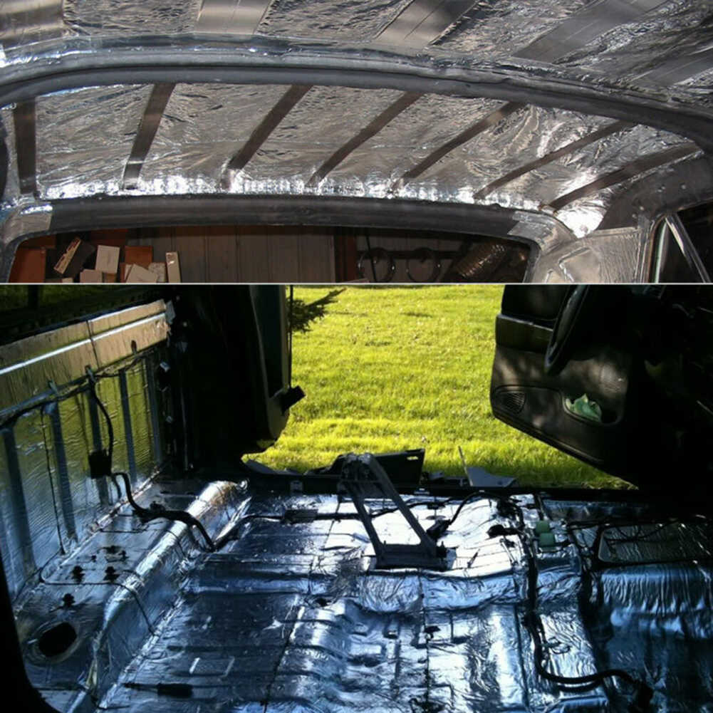 5MM araba kamyon ses yalıtımı yalıtımı Mat güvenlik duvarı yalıtım ses gürültü izolatör ısı ses ısı yalıtımı ped aksesuarları
