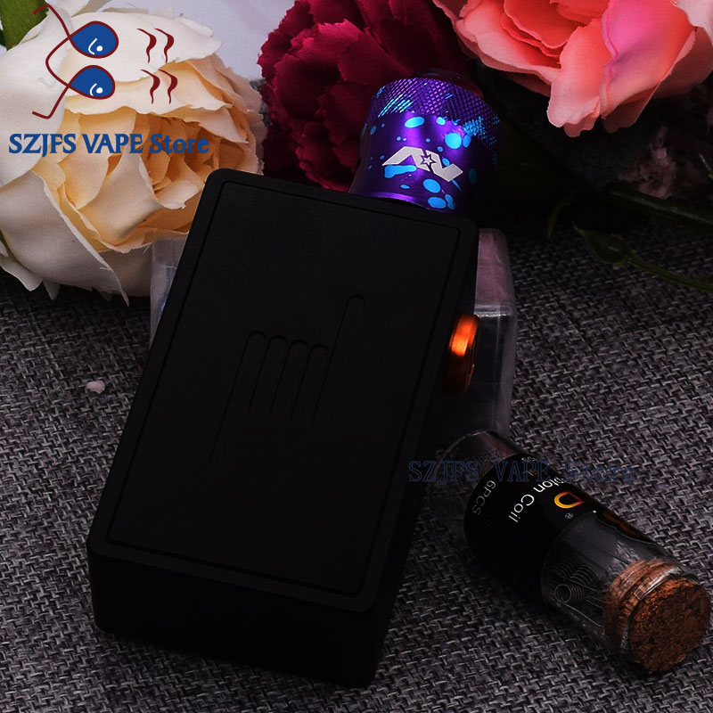 Apocalypse GEN 3 RDA BF Mech Mod BOX FIT 18650 Battery 6ml Capacity Kit With 510 Thread RDA Armageddon Squonker BF Mod Box Kit