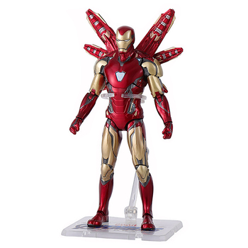 Avengers 4 Marvel Super Hero Iron Man Action Figure MK85 Model Collectible Joint Movement Figure for Children Gift Toy17CM marvel universe hero pa change peter jackson s king wolf joint diy do model doll goods of for display rather for toys gift