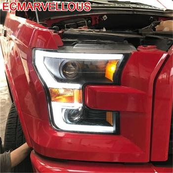 Para Cob Assessoires Daytime Running Auto Drl Automovil Accessory Parts Led Headlights Car Lights Assembly 15 16 FOR Ford F-150