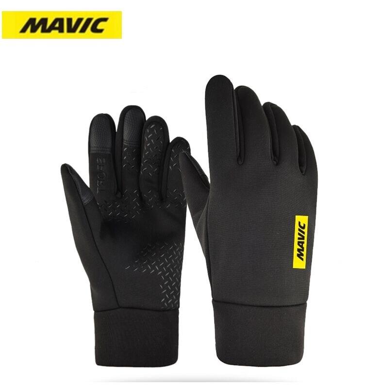 Велосипедные перчатки MAVIC MTB Дорожные Перчатки Горный велосипед водонепроницаемые и ветрозащитные перчатки мужские зимние велосипедные перчатки|Перчатки для велоспорта|   | АлиЭкспресс