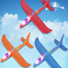 Outdoor Fun Toys Aircraft Planes-Model Fly-Glider Hand-Throw Foam Launch Party-Game Children