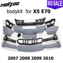 for BM X5 E70 body kit, bodykit, skid plate, bumper,2007 2008 2009 2010 , slap up brand new ABS, ISO9001 quality, great discount